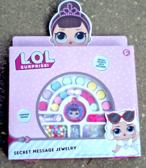 LOL Surprise Jewellery Making Kit Make Your Own Craft New Set Recommended Age 5+