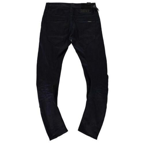 pour G 3d Zip Noir Arc Effer star 5 Jeans Denim hommes brut H6q1HnaB