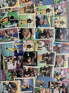 Pittsburgh Steelers Legendary Lot Of Kicker Gary Anderson Topps Score Pro Set