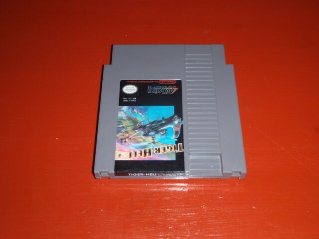 Tiger-Heli (Nintendo Entertainment System, 1987) -Cart Only