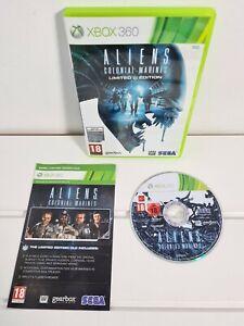 Aliens Colonial Marines Limited Edition Xbox 360 Spiel PAL mit Handbuch
