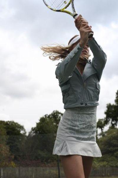 RARE ADIDAS by STELLA McCARTNEY Caroline Wozniacki TENNIS DRESS 42 Medium EUC!