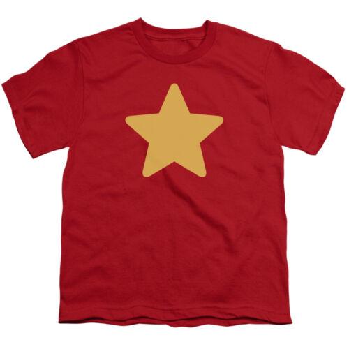 STEVEN UNIVERSE STAR Licensed Kids Boys Girls Graphic Tee Shirt SM-XL Sizes 6-20