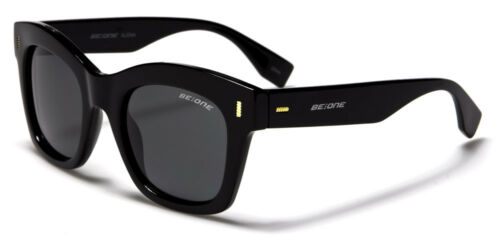 Polarized BeOne Square Chunky Designer Mens Womens Sunglasses 100/%UV400 Alena