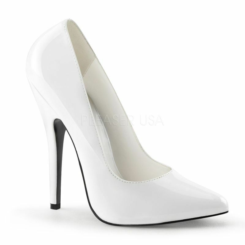 acquista marca Evious dom-420 PUMPS weifl VERNICE classico elegante tabledance POLEDANCE sposa sposa sposa D  buona qualità