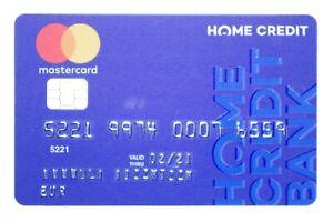 Russia Mastercard Credit Card Home Credit Bank Ebay