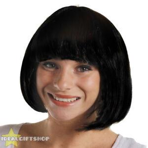 Short black hair teen