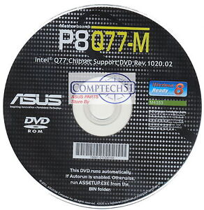 Asus P8Q77-M Disk Treiber Windows 7