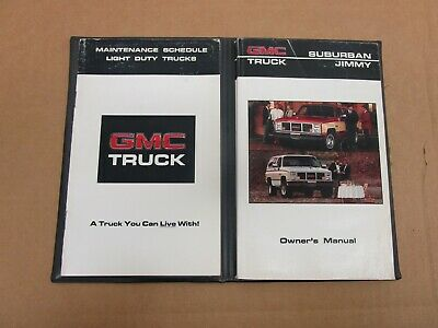 Owner & Operator Manuals Automotive 1987 GMC Jimmy S-15 Truck ...