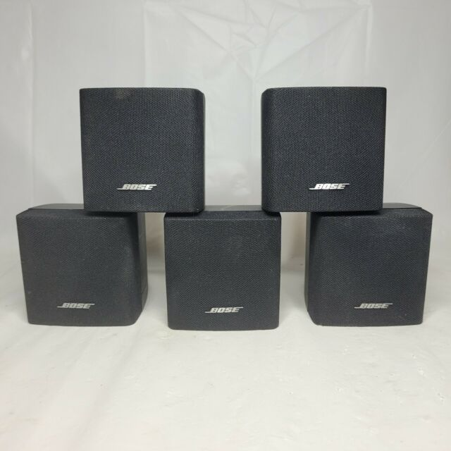 Bose Single Cube Speakers Lot of 5 for Lifestyle Acoustimass Works