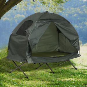 Outsunny-Compact-Folding-One-Man-Outdoor-Travel-Camping-Cot-Bed-Tent-for-Adults