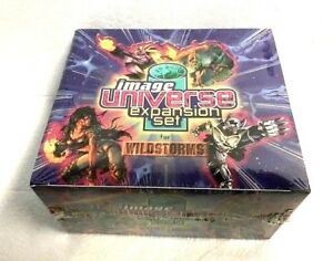 WILDSTORMS-IMAGE-UNIVERSE-EXPANSION-SET-Collectible-Card-Game-CCG-Sealed-BOX