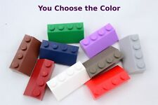 Lego 1x2x2//3 Slope Black Blue Green Orange Red Gray Brown Tan White YOU CHOOSE