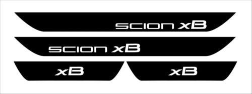 Scion xB Vinyl Door Sill Decals vip jdm 2010 2011 2012 2013 2014 2015 2016 2017.