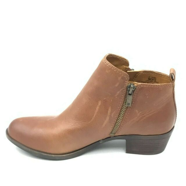 Lucky BRAND Basel Side Zip Ankle BOOTS