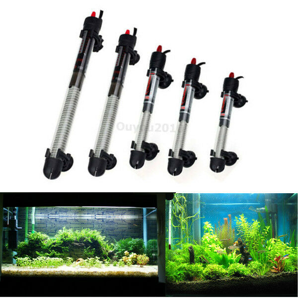 Thermostat Submersible Adjustable Water Glass Heater Rod For Aquarium Fish Tank