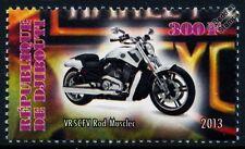 Harley Davidson VRSCF V-Rod Muscle Motorbike Bike Motorcycle Stamp