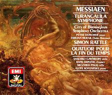 Olivier Messiaen: Turangalila;  Quatuor Pour La Fin du Temps, , , Very Good