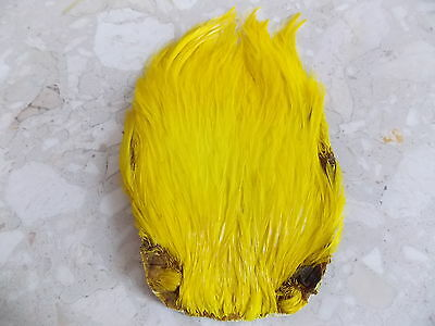 Large Top Quality Cock Cape, Choice from 6 colours,Fly tying feathers,materials