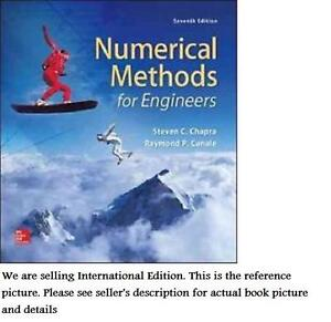 numerical methods for engineers by steven chapra and raymond canale
