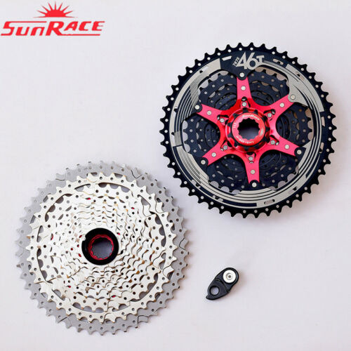 SUNRACE CSMX3 10Speed MTB Bike Cassette 10S Cogs 11-40//42//46t fit Shimano SRAM