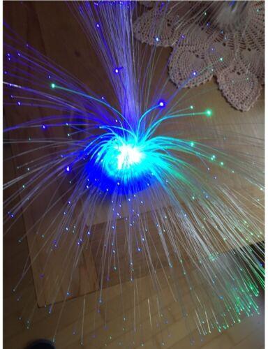 Kids Night Lamp Toy Changing LED Fiber Optic Battery Powered Small Light Gift