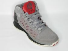 cef70d1aafc1a5 Adidas Derrick D Rose 3 11.5 M Gray Chicago Bulls Red NBA G48810 Men High  Shoes