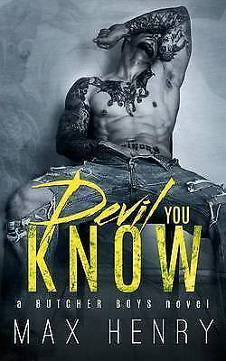 Devil You Know, Paperback by Henry, Max, Brand New, Free P&P in the UK