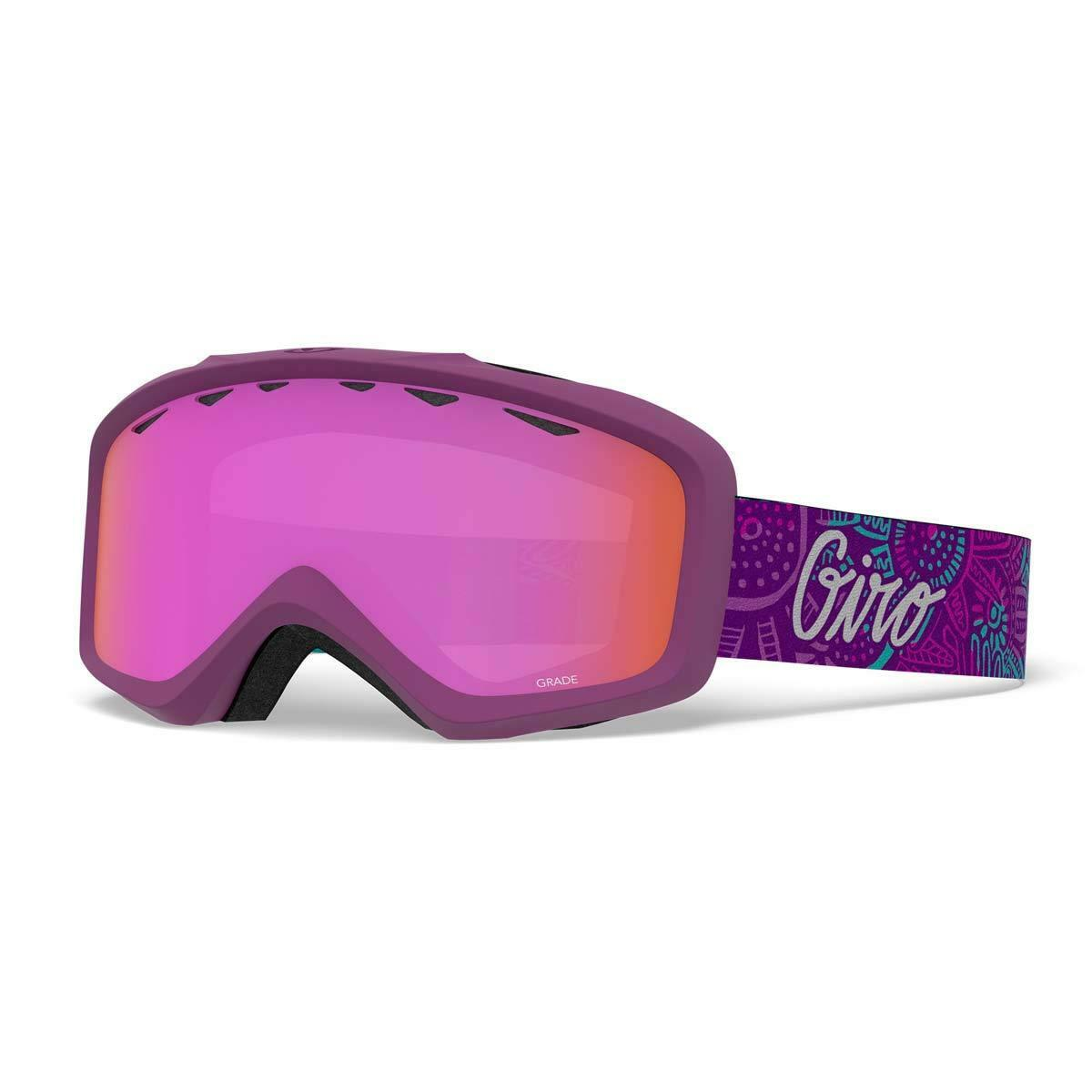 Giro 2019 Grade  Kids Snow Goggles Psych Blossom - Amber Pink 7094647  enjoy 50% off