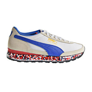 fa094df97b3 Puma Jamming Easy Rider Men s Shoes Whisper White Strong Blue 367832 ...
