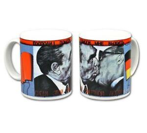 Copieux Berlin Tasse De Café Tasse Bruderkuss Coffee Mug Germany, Nouveau-afficher Le Titre D'origine Non Repassant