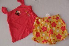 Gymboree Aloha Sunshine Girls Size 18-24 Monkey Shirt Top Floral Shorts NWT NEW