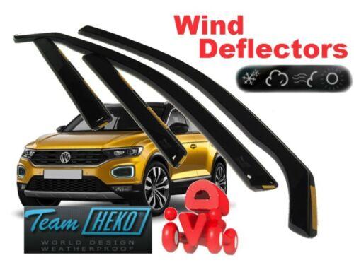 VOLKSWAGEN T-Roc  2017-5D Wind deflectors  4.pc set HEKO 31012
