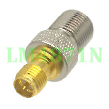 1pce Adapter F TV female jack to RP.SMA female connector TV Antenne Auto Radio