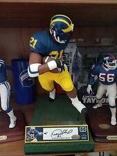 "Desmond Howard custom 12"" Mcfarlane Michigan Redskins Packers autographed 1 kind"