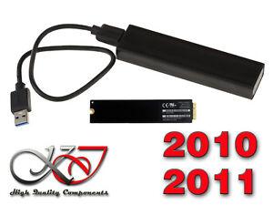 Boitier Aluminium USB 3.0 Pour SSD MACBOOK ANNEE 2010-2011 SSD 6+12 PIN JsEtXxrO-09164018-250958258