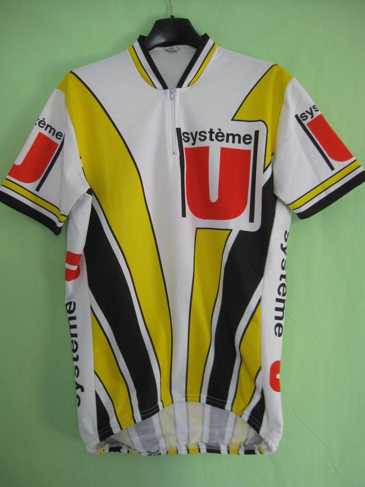 Maillot cycliste Système U Jersey Model sport FIGNON Laurent Jersey U - 6 / XL cfde5d