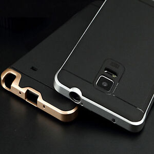cheaper 5cd0a 057b9 Details about Armor Hybrid Hard Bumper Soft Rubber Case Cover For Samsung  Galaxy Note 3 Note 4