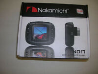 Nakamichi Nd17m Portable Digital Video Recorder With 1.41 Screen Dashcamera