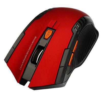 Mini 2.4Ghz 1200DPI USB Wireless Optical Gaming Mouse Mice For PC Laptop Desktop