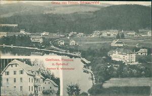 Ansichtskarte Titisee Schwarzwald Gasthaus Pension z. Bahnhof 1907 (Nr.719) - Eggenstein-Leopoldshafen, Deutschland - Ansichtskarte Titisee Schwarzwald Gasthaus Pension z. Bahnhof 1907 (Nr.719) - Eggenstein-Leopoldshafen, Deutschland