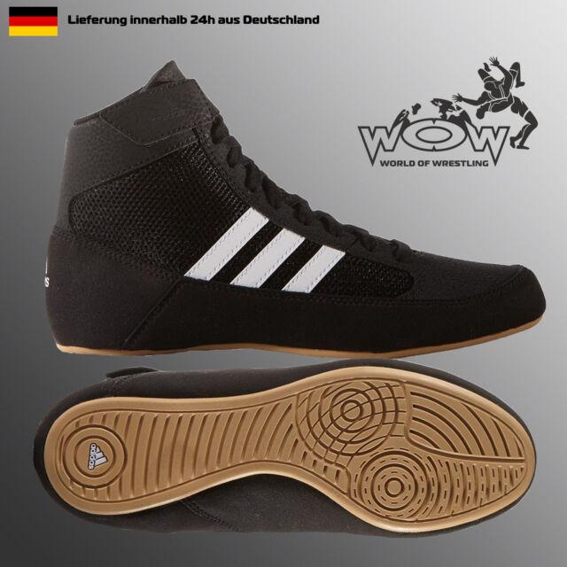 Havoc 2 Kinder Schwarz ADIDAS Ringerschuhe Wrestling Ringen Schuhe Shoes Kids