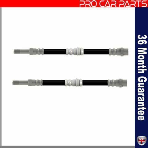 34301165174 2 X Rear Brake Hose Pipe Fits BMW 3 Series  34301165074