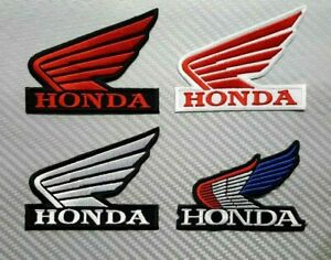 Honda Motorcycle Rider Bikers  Embroidered Sew//Iron On Patch Patches