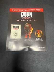 Doom Eternal Deluxe Edition Code For Dlc 1 2 Outfit Soundpack