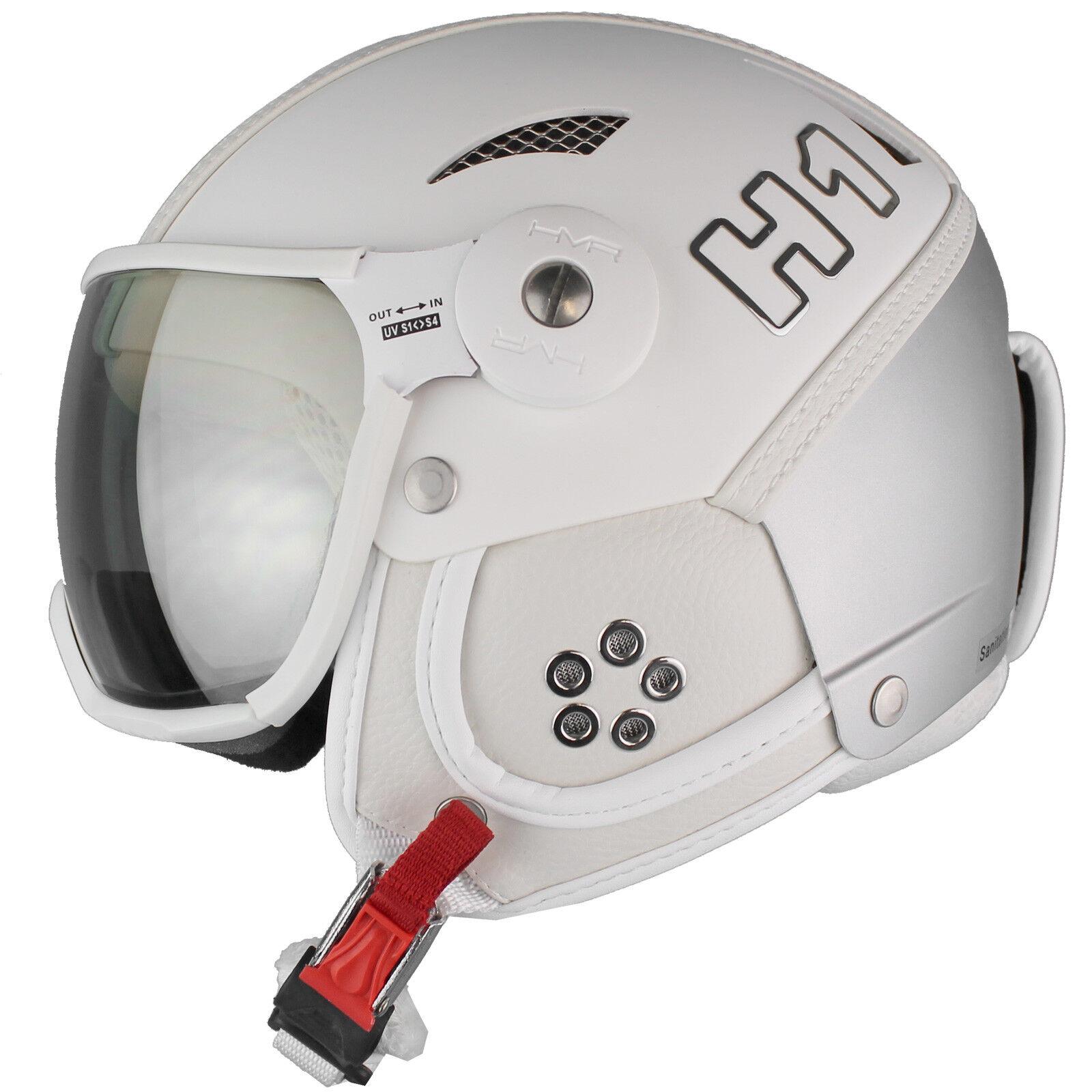 HMR H1 Skihelm Snowboardhelm Visierhelm mit aktiver Belüftung Ski Snowboard Helm