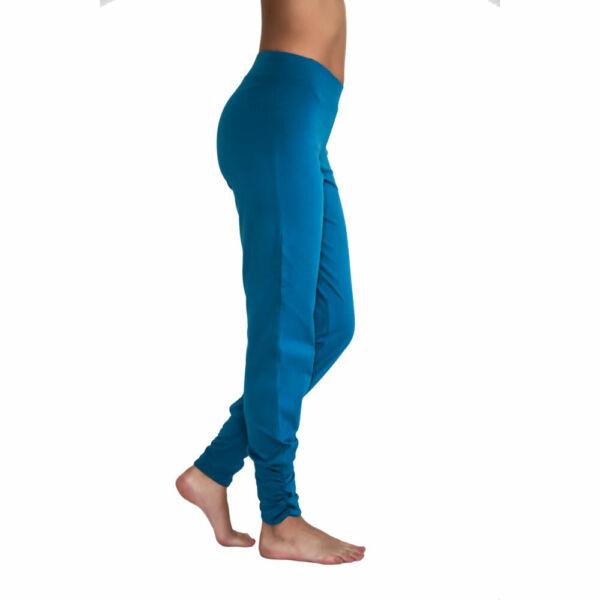 Albero/Leela Cotton Damen Yoga Hose mit Gummizug Bio-Baumwolle