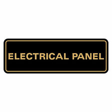 Standard Electrical Panel Sign