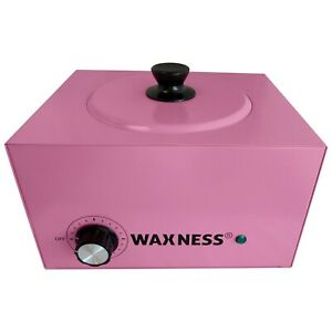 Waxness Large Professional Heater WN-6003 Pink Holds 5.5 lb Wax