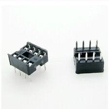 20 Pcs 8 Pin DIP8 Integrated Circuit IC Sockets Adaptor Solder Type DSUK